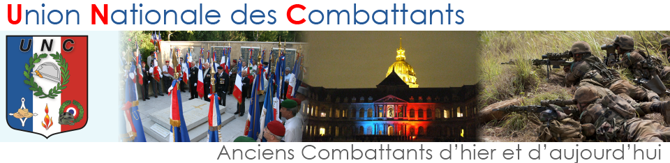 UNC - UNION NATIONAL DES COMBATTANTS