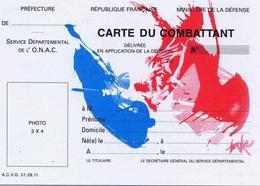 Union nationale des combattants la carte du combattant - Office nationale des anciens combattants ...